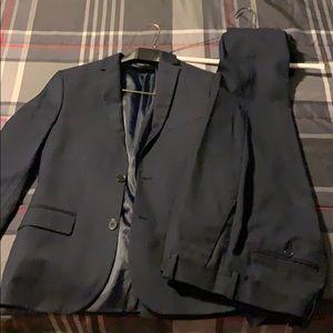 Men's H&M Slim Fit Navy Suit